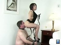 Bound to My Ass: The movie features Mistress Ava who has taken a real shining to dominating men..
