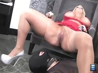 Lick MY Asshole: Goddess Alura made her slave clean her gorgeous ass up with his tongue as she enjoyed knowing that he was truly suffering from her powerful scent.
