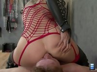 Purpose of Your Tongue: The vibrations of his sucking on my asshole feels fantastic.