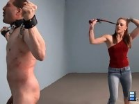 Epic Whipping: More specifically, she loves men that are willing to endure significant pain and torture for her.