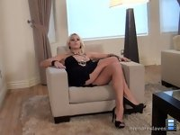 Goddess Is Home: Miss Lavey expects her pets to be working hard while she is out enjoying herself with their money..